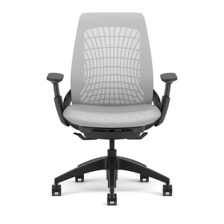 allsteel mimeo chair shown in loft mesh with 4 d arms