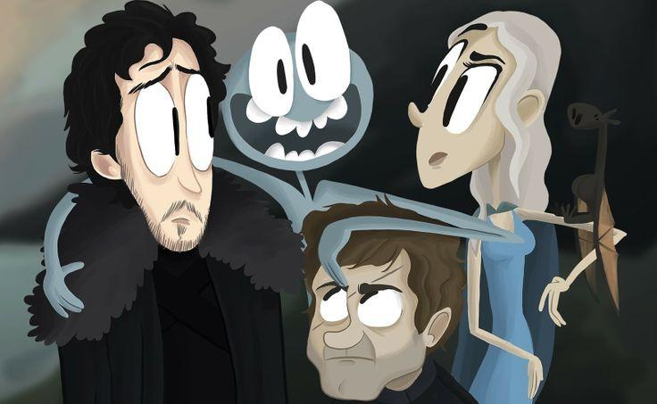 Animação no estilo Tim Burton faz um divertido resumo de Game of Thrones