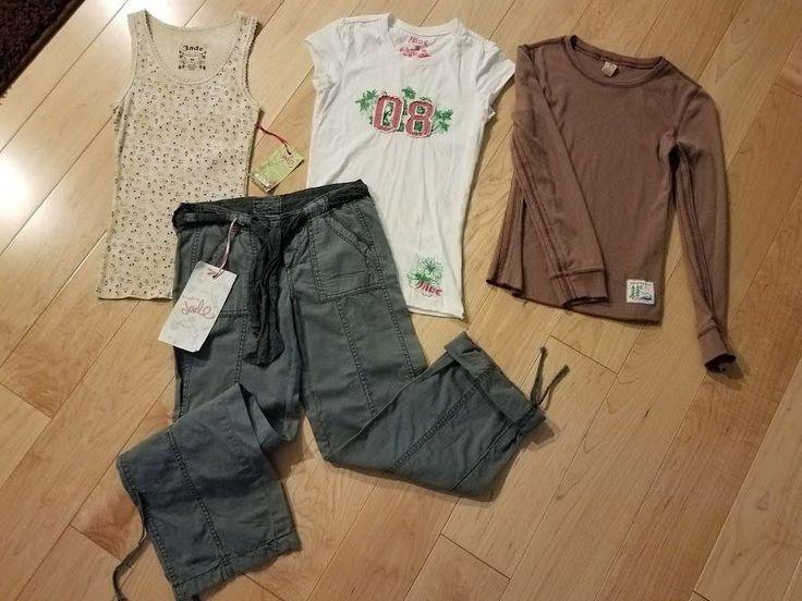 $34.99 NEW GIRLS LOT OF JADE GIRL KIDS CLOTHING SIZE MEDIUM 10/12  4 pc's  #JadeGirl #Everyday