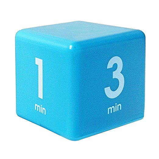 Amazon Com The Miracle Timecube Timer 5 10 20 And 30 Minutes