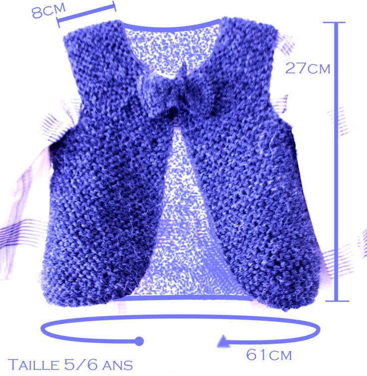Gilet berger 5 6 ans tricot pinterest tuto tricot et tricot et crochet - Tuto tricot debutant gratuit ...