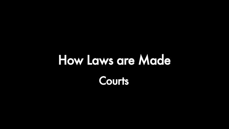 How Laws are made - Courts. Legislation is a major source of law.  Courts are the other source of law.  This video explains the court hierar...