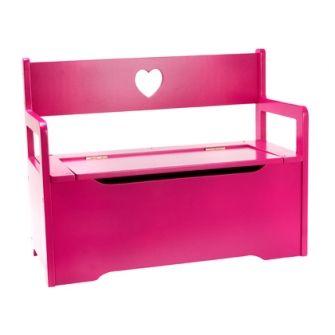 JIP hippe opbergbank roze - KidsFavorites.nl