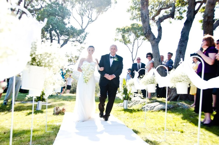 Rocky Point Balmoral Beach wedding