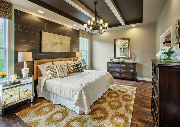 A master bedroom at Toll Brothers Regency at Wappinger, NY
