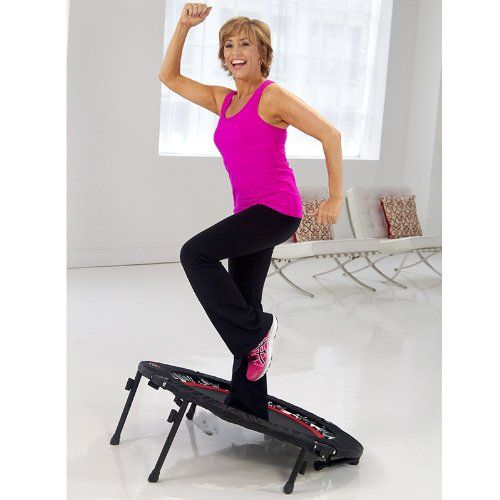 Rebounder Exercises for Beginners HealthyFamilyMatters.com Using a rebounder is a great way to get in shape as these mini trampolines allow effective workouts without the stress that is placed on the body during high impact exercise. Because it is considered low impact exercise, this piece of equipment can produce highly effective results in a very safe manner, making it the perfect exercise tool for beginners.
