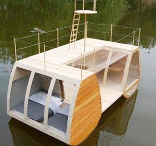 Une chambre en pleine nature et sur l'eau, c est possible !