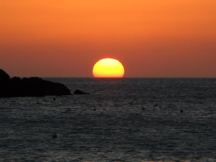 A beautiful greek sunset!