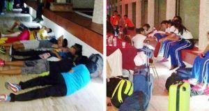 Decenas de niños procedentes del estado de Tamaulipas se vieron obligados a dormir en el suelo del lobby de un hotel, después de que, supuestamente, la Comisión Nacional de Cultura Física y Deporte (Conade) no pagó las habitaciones para que pudieran descansar a su llegada a Mazatlán, Sinaloa, para participar en la Olimpiada Juvenil […]