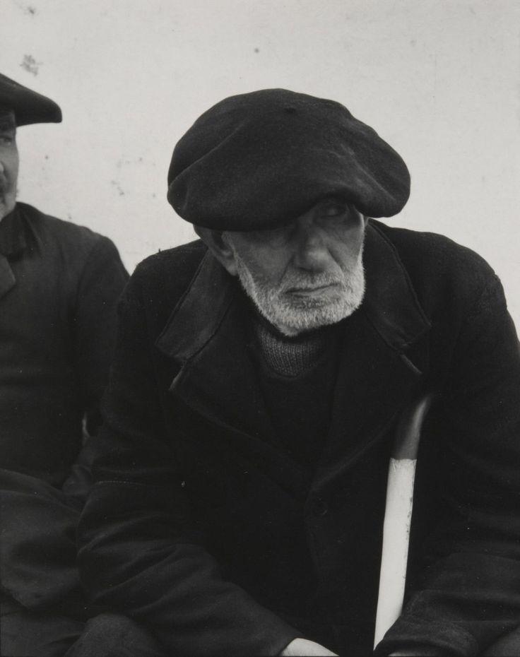 Fisherman, Douarnenez, Finistère, France, 1950,  Paul Strand, American, 1890 - 1976   Bretagne   Finistère   #myfinistere