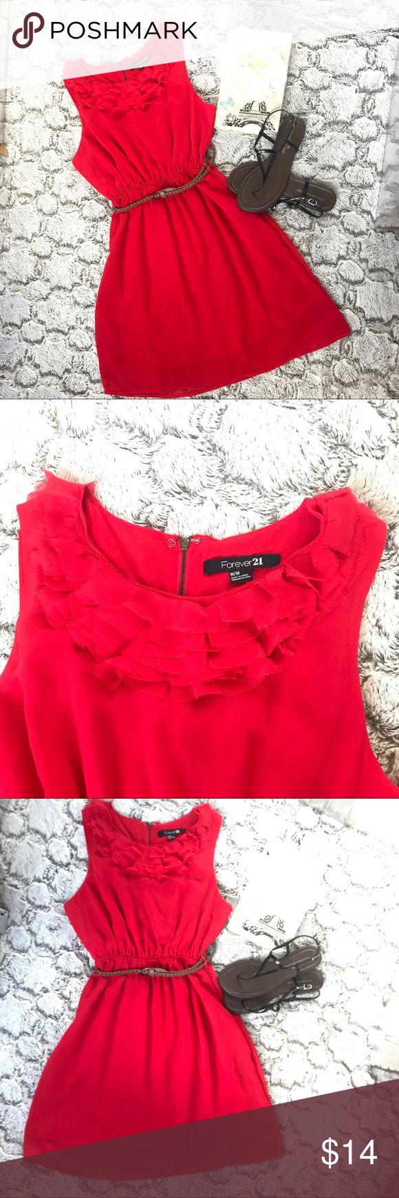 Forever 21 Princess red dress Super Cute dress perfect for summer!👗 Forever 21 Dresses Mini
