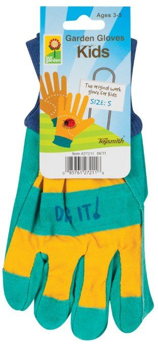 Amazon.com: Toysmith Kids Garden Gloves, Assorted Colors, Small: Toys & Games Small