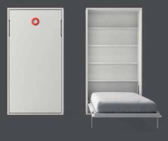 35 best images about camas abatibles on pinterest un - Cama abatible vertical ikea ...