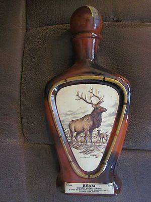 Vintage James Lockhart Jim Beam Bottle Decanter Quot The Elk
