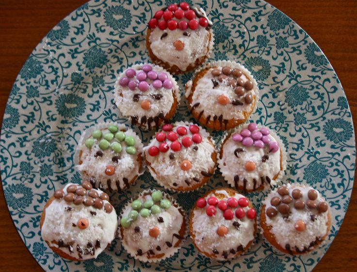 X-mas cupcakes, Christmas cupcakes
