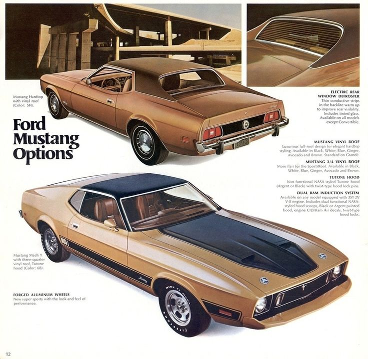 1973 Mustang Specs, Colors, Facts, History, and Performance | Classic Car Database