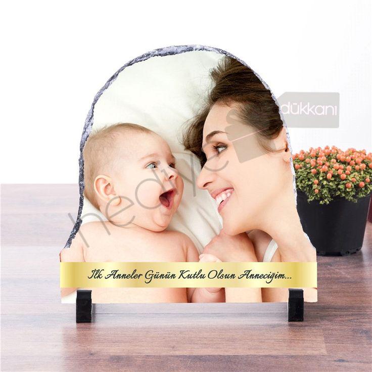 İlk Anneler Günü Hediyesi Taş Baskı