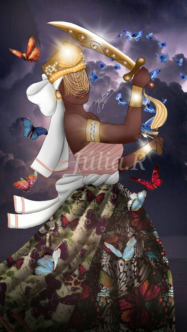 Iansa Oya by Júlia Rodrigues