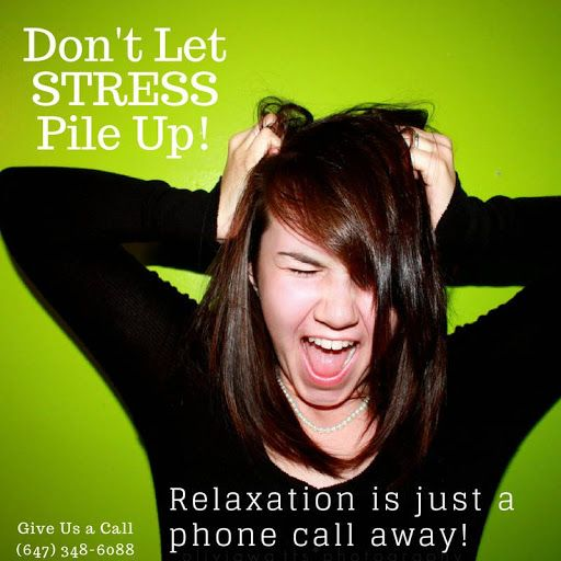 Don't Let #STRESS Pile Up! Relaxation is just a phone call