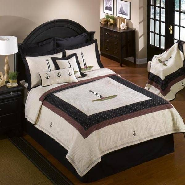 donna sharp handmade quilt from the hatteras collection - The Home Decorating Company