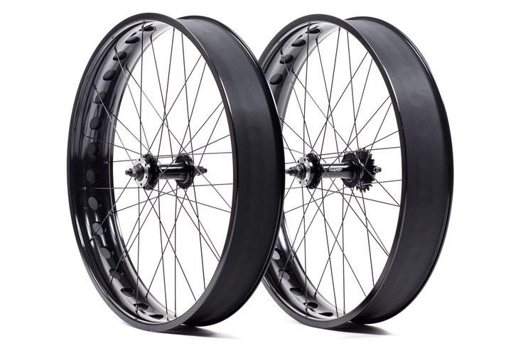 State Bicycle Co. Fat Bike Premium Single Speed Wheelset Front/Rear Black