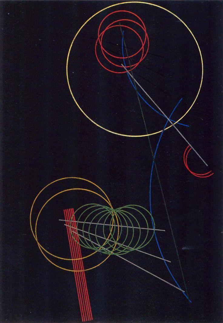 - ROD(T)CHENKO Alexander (1891-1956), Construction n° 106, 1920, huile sur toile, 102x70 cm, Moscou, Musée des Beaux-Arts Pouchkine.. ArtPlastoc