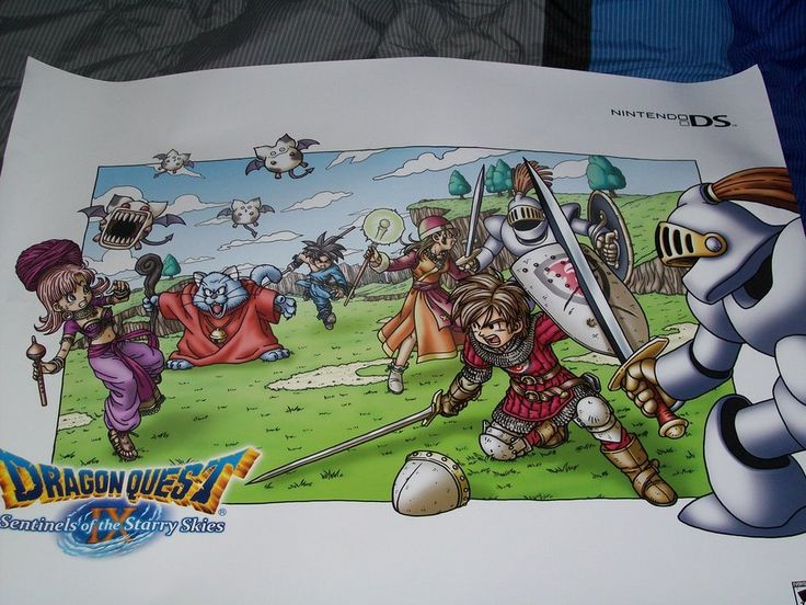 11 best dragon quest images on pinterest dragon quest my dragon quest ix poster by yoshiangemoniantart on deviantart aloadofball Choice Image