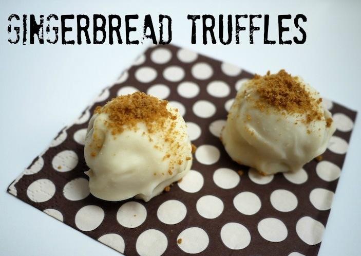 Gingerbread Truffles | Delish treats | Pinterest