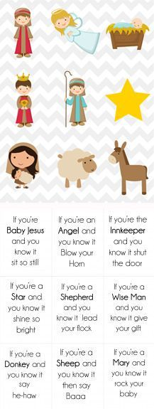 """Christmas Song Cards & Game for Kids {Free Printable} To the tune of """"if your happy and you know it."""""""