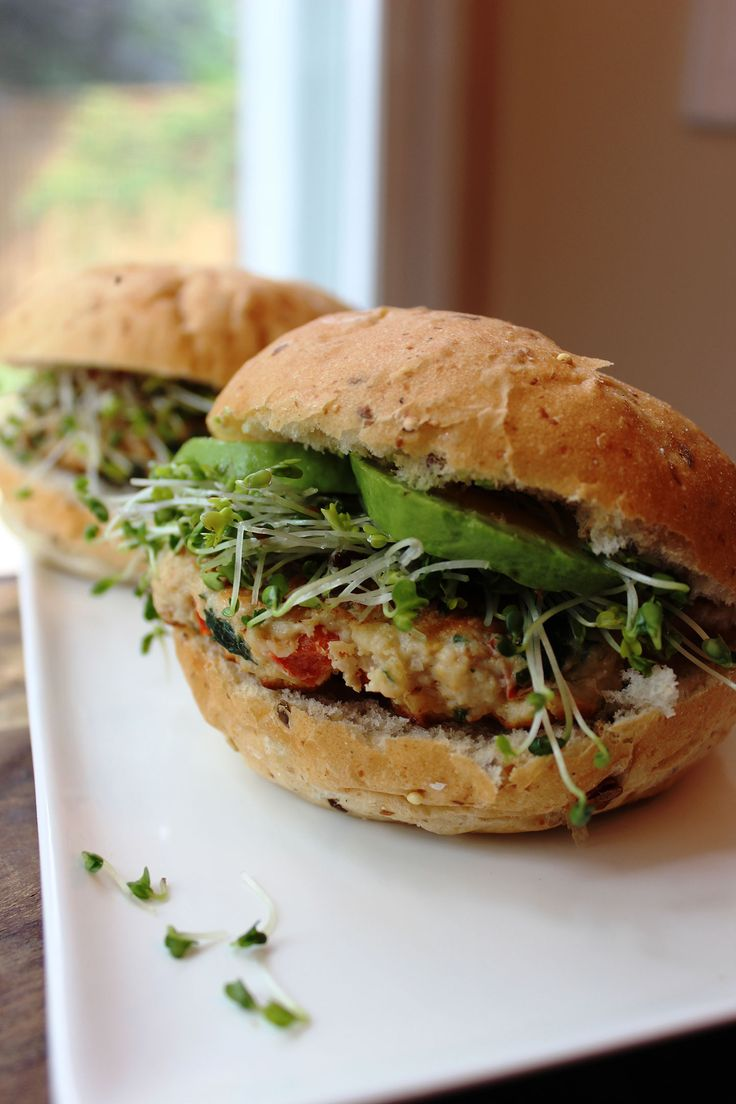 Healthy Turkey Garden Burgers Recipe. Easy, delicious, and good for you!