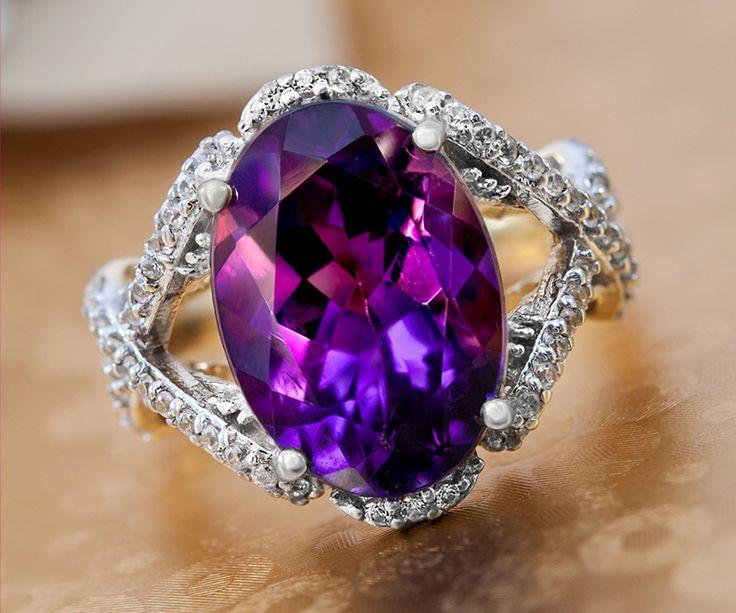 Découvrez la pierre de naissance du mois de février : l'Améthyste et ses superbes teintes violettes - Tous nos bijoux en Améthyste - Juwelo votre Bijouterie en Ligne