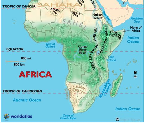 7 best 6th grade geographic standards images on Pinterest - best of world map with africa in center