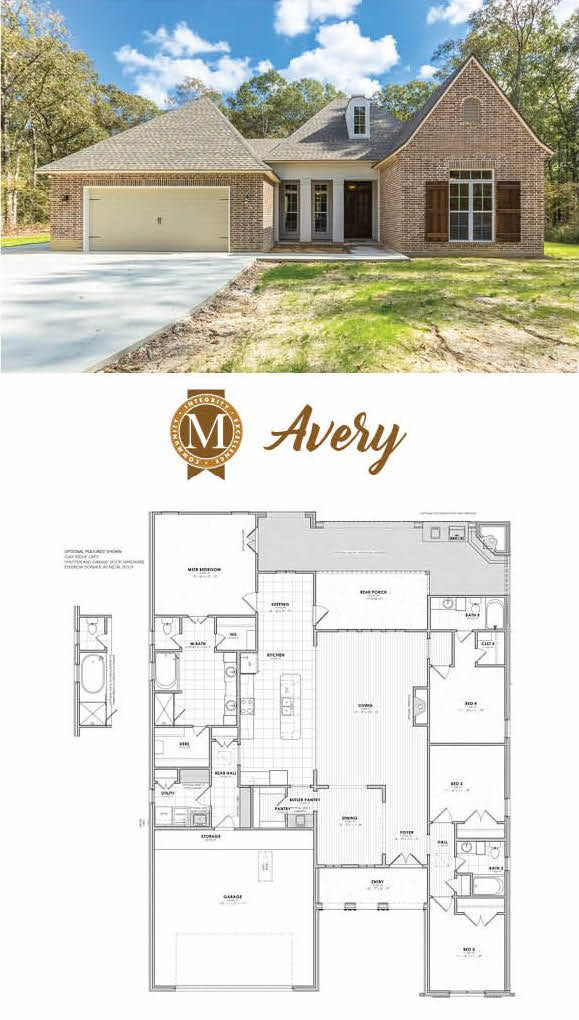 Avery Heritage Lake Charles Lafayette Louisiana Baton Rouge Sims House Plans New House Plans House Blueprints