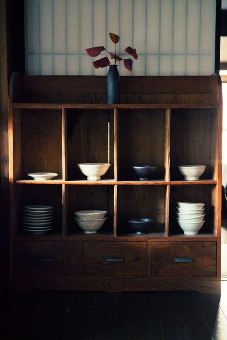 Japanese shelves