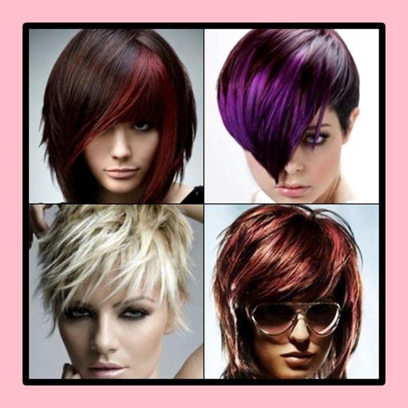 Nette Farbe für kurze Haare Ideen im Jahr 2018 #farbe # ...