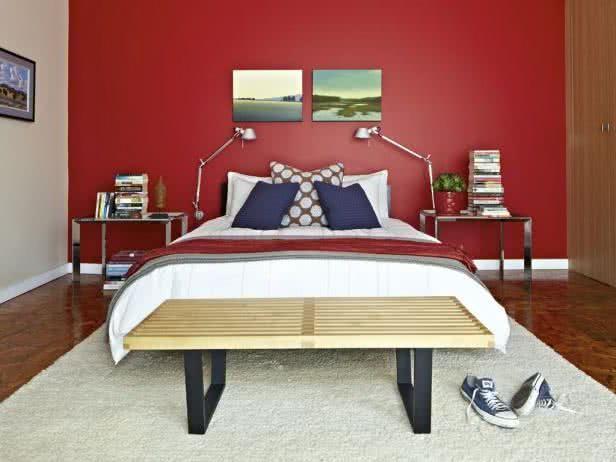 Charming Rotes Schlafzimmer Die Besten 25 Rotes Schlafzimmer Ideen Auf Rotes Amazing Design