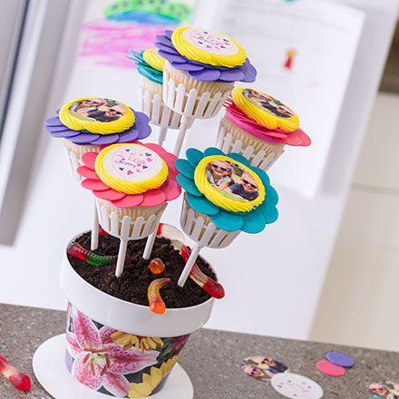 Mothers Day Cupcake Cake
