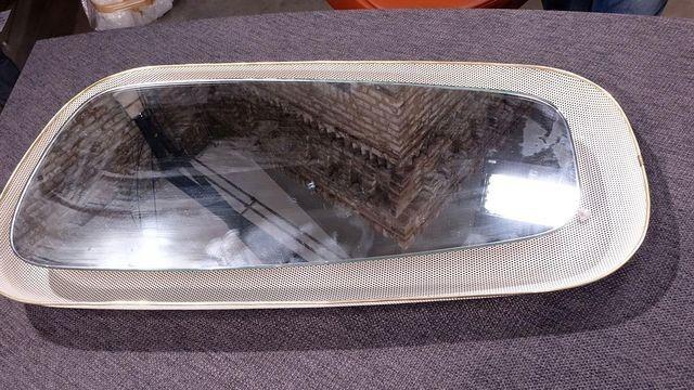 Beleuchteter Spiegel- Ende 50er,Anfang 60er-im Stil Mathieu Mategot-perforiertes Blech -  Wert 150€