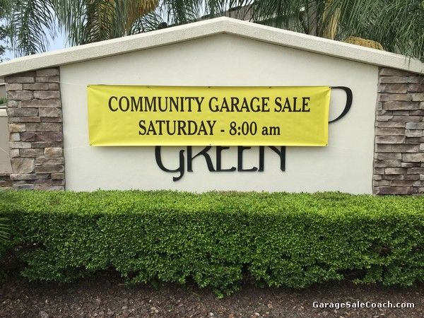 Community Garage Sales - The Goldmine for Garage Salers - 5 Tips For Success | Garage Sale Blog | gsalr.com