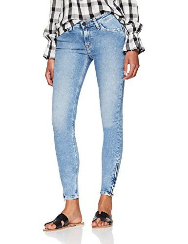 76f52882413bfe Lee Scarlett Cropped Jean Skinny Femme Bleu (Urban Mid Ut) W26/L33 ...