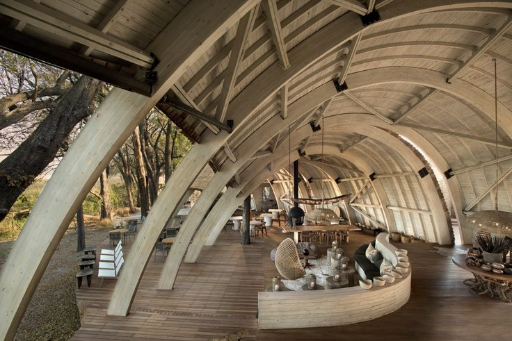 Michaelis Boyd Associates — Sandibe Safari Lodge, Botswana