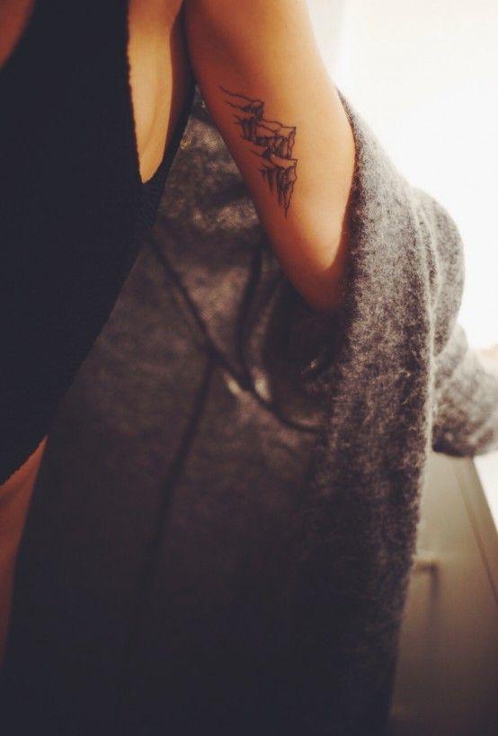 Mein nächstes Tattoo … wickle den Rücken und die Schulter hoch und nicht gerade an der Seite