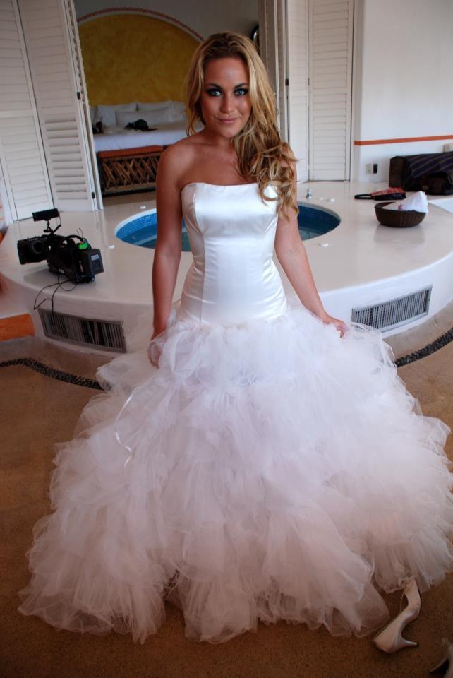 Amazing wedding dress by Rikke Gudnitz