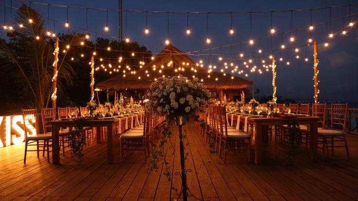 Hotel Komune wedding deck