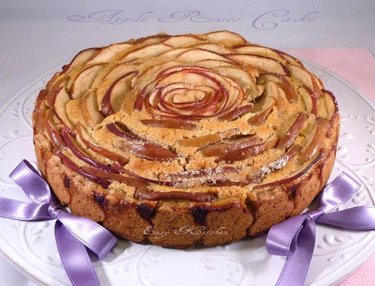 Apple roses cake ricetta crostata di mele