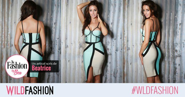 Poarta o rochie cu decupaje super trendy si sigur vei cuceri orice audienta!