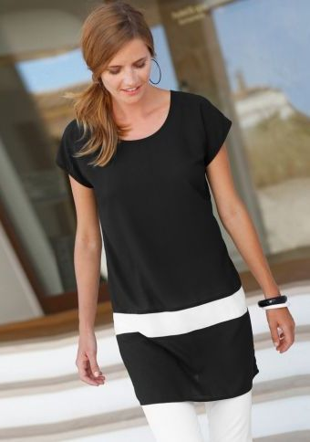 Dvoubarevná tunika #ModinoCZ #forfreetime #comfortable #stylish #fashion #trendy #clothing #obleceni #moda #volnycas #stylove