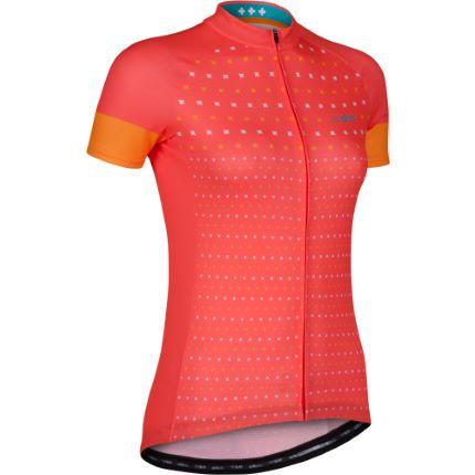 Wiggle | dhb Women's Blok Micro Short Sleeve Jersey | Short Sleeve Cycling Jerseys