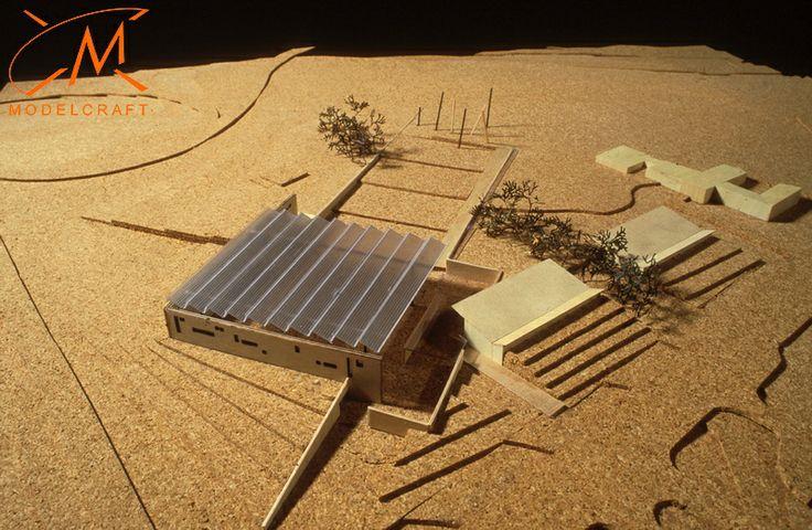 1:500 Timber, Acrylic + Cork Architectural Model by Modelcraft (NSW) Pty Ltd - b499