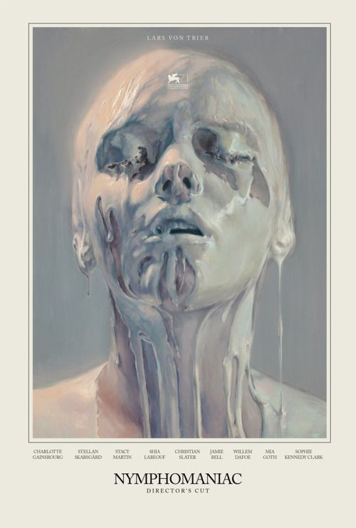 """MM Archives : Unused Poster Concept for Lars Von Trier's """"Nymphomaniac"""" Painting by Ivan Alifan"""